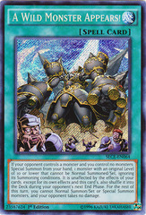 A Wild Monster Appears! - SECE-EN064 - Secret Rare - 1st Edition