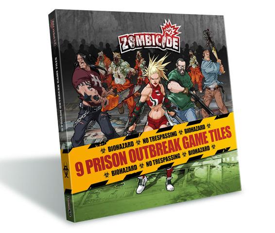 Zombicide 9 Prison Outbreak Tile Pack