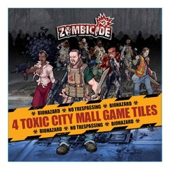 Zombicide 4 Toxic City Mall Tile Pack