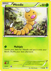 Weedle - 1/160 - Common