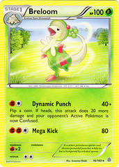 Breloom - 16/160 - Rare on Channel Fireball