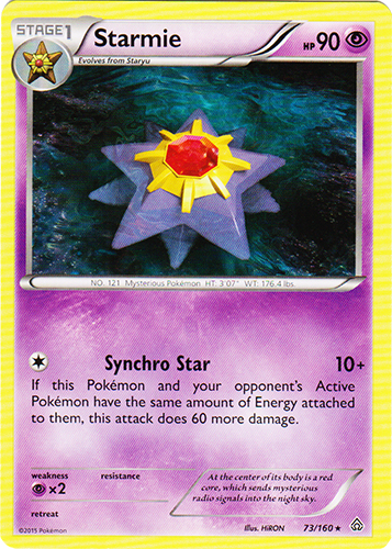 Starmie - 73/160 - Rare
