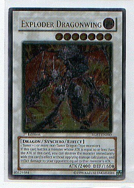 Exploder Dragonwing - RGBT-EN040 - Ultimate Rare - 1st Edition