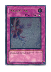 Forced Back - Ultimate - EOJ-EN060 - Ultimate Rare - 1st