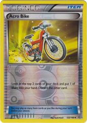 Acro Bike - 122/160 - Uncommon - Reverse Holo on Channel Fireball