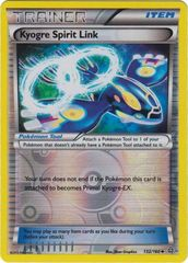 Kyogre Spirit Link - 132/160 - Uncommon - Reverse Holo