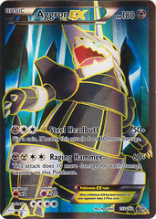 Aggron-EX - 153/160 - Full Art on Channel Fireball
