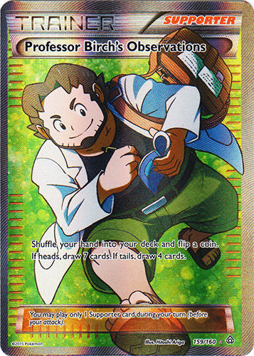 Professor Birch's Observations - 159/160 - Full Art