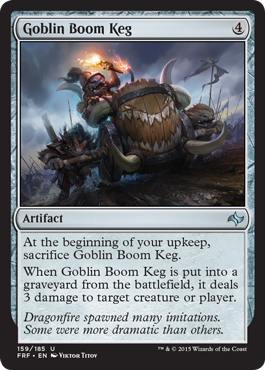 Goblin Boom Keg - Foil