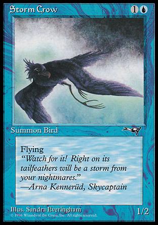Storm Crow (Flying Left)