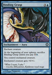 Binding Grasp (Coldsnap Theme Deck Reprint)