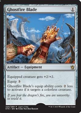 Ghostfire Blade (Ugin's Fate)