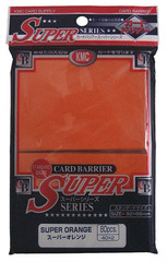 KMC Super Orange Sleeves (80 ct)