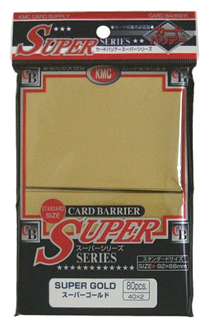 KMC Super Gold Sleeves (80 ct)