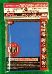 KMC Mini Sized Blue 50 Sleeve Pack