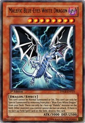 Malefic Blue-Eyes White Dragon - DPKB-EN023 - Ultra Rare - 1st Edition