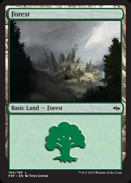 Forest (184/185) - Foil