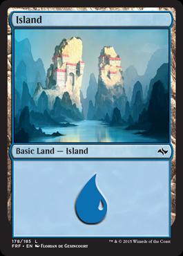 Island (178/185) - Foil