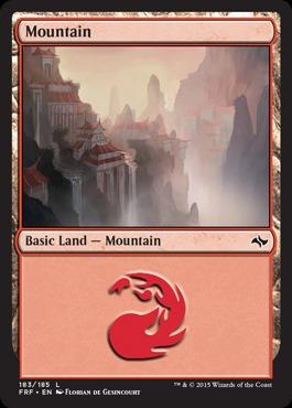 Mountain (183/185) - Foil