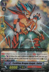 Perdition Dragon Knight, Sattar - BT17/013EN - RR