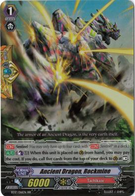 Ancient Dragon, Rockmine - BT17/016EN - RR
