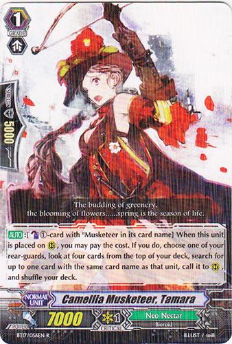 Camellia Musketeer, Tamara - BT17/056EN - R