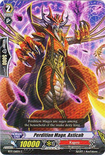 Perdition Mage, Asticah - BT17/061EN - C