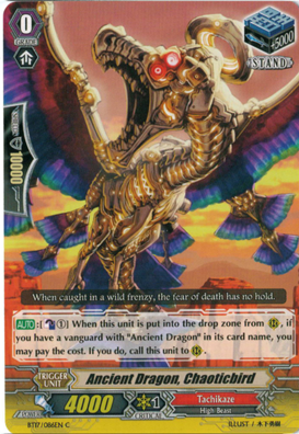 Ancient Dragon, Chaoticbird - BT17/086EN - C