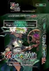 Force of Will Magic Circle of the Hurricanes Starter Deck