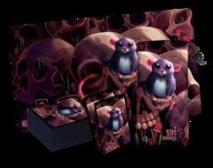StarCityGames Rat Accessory Set - Playmat, Card Sleeve, Dice Bag