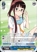 NK/W30-E082 R Girl in Glasses, Ruri