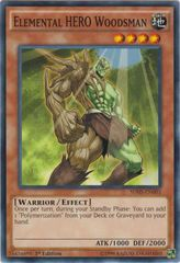 Elemental HERO Woodsman - SDHS-EN003 - Common - 1st Edition