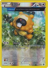 Bidoof - 117/160 - Uncommon - Reverse Holo on Channel Fireball