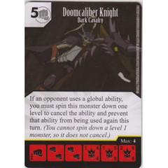 Doomcaliber Knight - Dark Cavalry (Die & Card Combo)