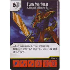 Flame Swordsman - Salamandra Flamestrike (Die & Card Combo)