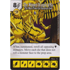 The Winged Dragon of Ra - The Most Powerful Egyptian God (Die & Card Combo)