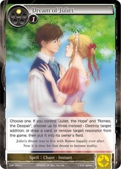 Dream of Juliet - CMF-004 - C - 1st Printing on Channel Fireball