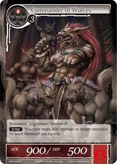 Commander of Wolves - CMF-023 - R - 1st Printing on Channel Fireball