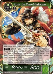 Athos, the Three Musketeers - CMF-060 - SR - 1st Printing on Channel Fireball