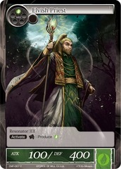 Elvish Priest - CMF-067 - C - 1st Printing on Channel Fireball