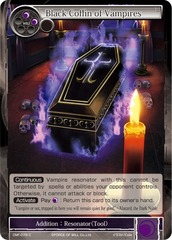 Black Coffin of Vampires - CMF-079 - C - 1st Printing on Channel Fireball