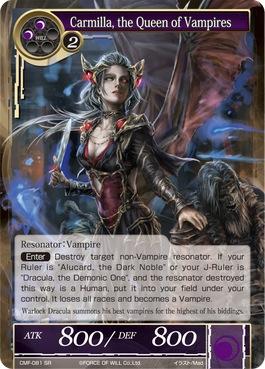Carmilla, the Queen of Vampires - CMF-081 - SR - 1st Printing