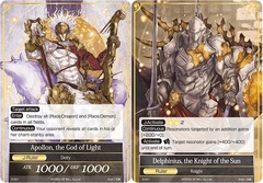 Apollon, the God of Light // Delphinius, the Knight of the Sun - S-001 - S