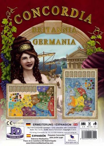 Concordia: Britannia & Germania