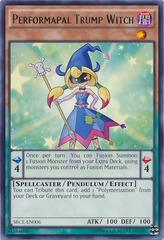 Performapal Trump Witch - SECE-EN006 - Rare - Unlimited Edition