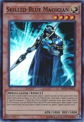 Skilled Blue Magician - SECE-EN032 - Super Rare - Unlimited Edition