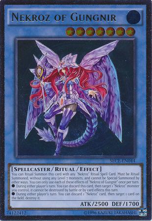 Nekroz of Gungnir - SECE-EN044 - Ultimate Rare - Unlimited Edition