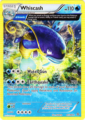 Whiscash - 41/160 - Rare - Holo
