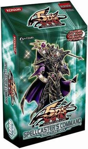Yu-Gi-Oh Structure Deck: Spellcasters Command - Unlimited Edition
