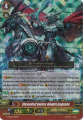 Shrouded Divine Knight, Gablade - G-TD02/001EN (RRR) on Channel Fireball